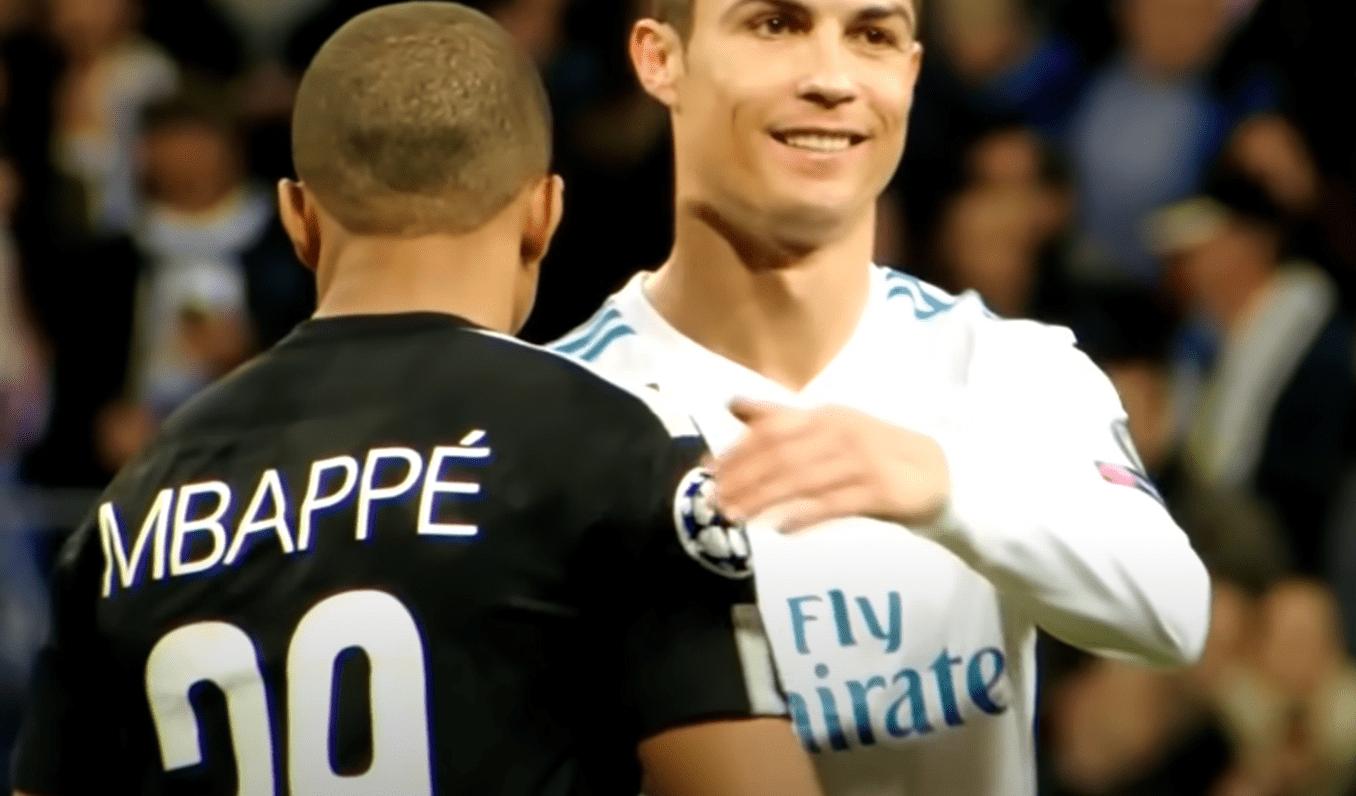 Mbappé et Cristiano Ronaldo
