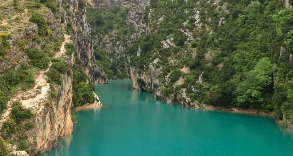 Lac Gorges du Verdon Sainte croix