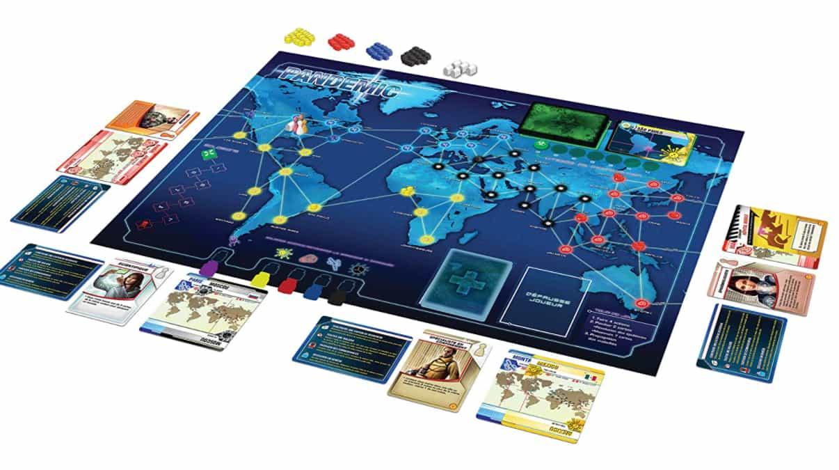 Pandemic jeu de plateau