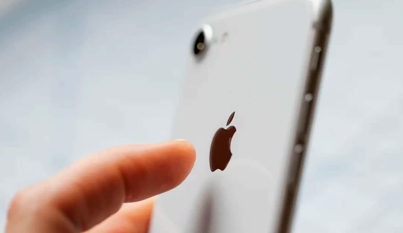 Bouton iPhone Logo Apple