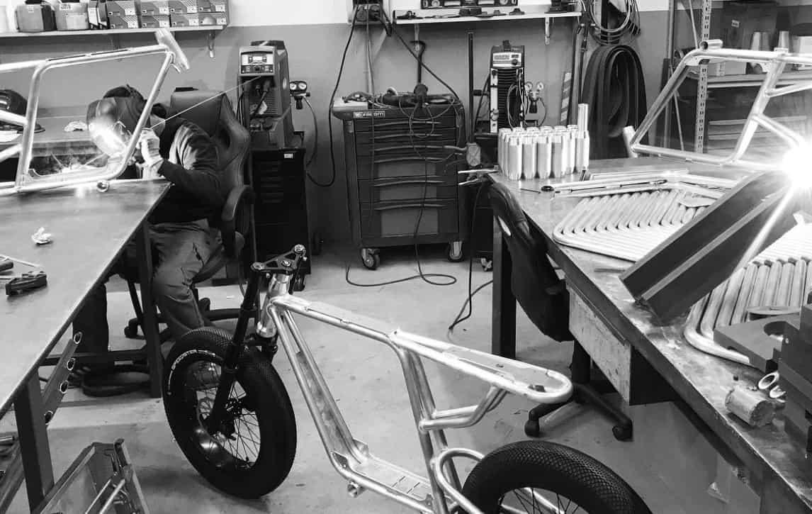 Bikle fabrication vélo