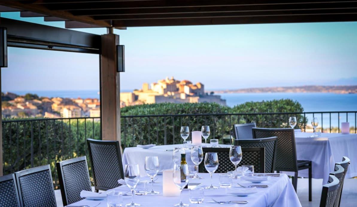 Restaurant Calvi vu citadelle