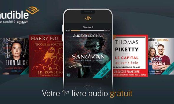 Livre audio audible