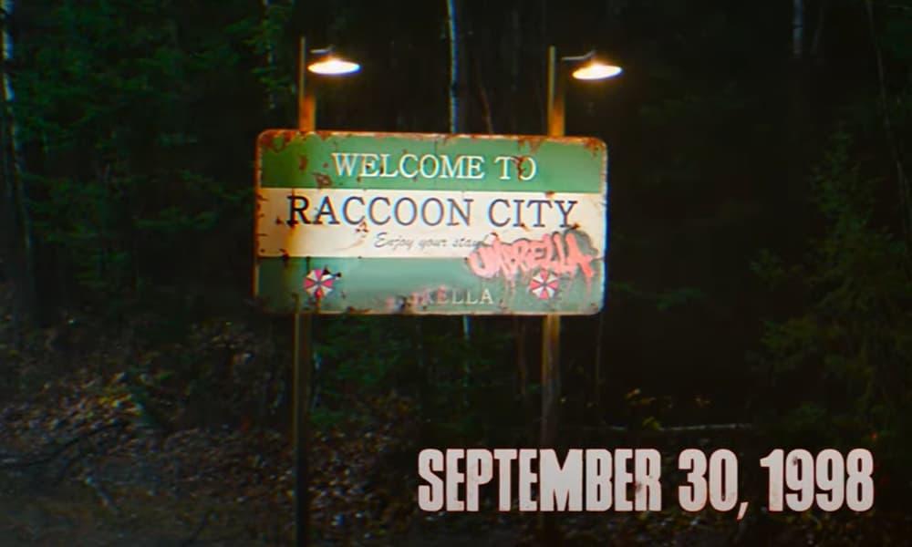 Panneau Raccoon City